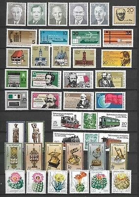 East-Germany/GDR/DDR: All stamps of 1983 in a year set complete, MNH