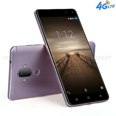 6 Inch 4G LTE 16GB Unlocked Android 7.0 Mobile Smartphone 2SIM Quad Core Phablet