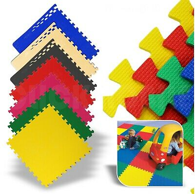 Interlocking EVA Soft Foam Floor Mats Baby Crawling Puzzle Mat Kids Play Mat Gym