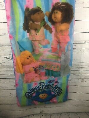 Vintage Cabbage Patch Kids Slumber Party Girl Dolls 80s 90s Parties Sleeping Bag