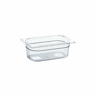 Gastronormbehälter GN Behälter NEW MODEL Polycarbonat GN1/4 265x164x100mm 2,6 L