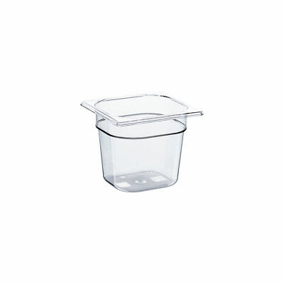 Gastronormbehälter GN Behälter NEW MODEL Polycarbonat GN 1/6 176x162x150mm 2,3 L