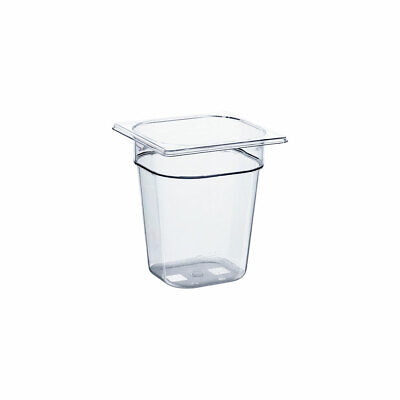 Gastronormbehälter GN Behälter NEW MODEL Polycarbonat GN 1/6 176x162x200mm 2,8 L