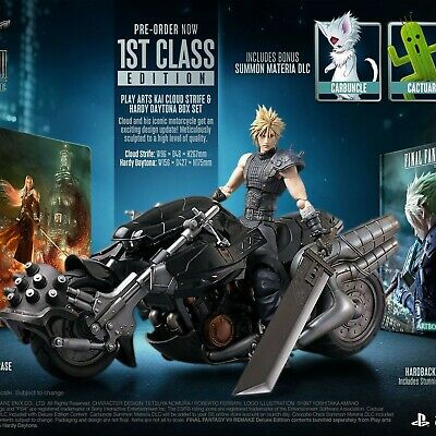 Final Fantasy 7 Collectors Ps4 First Class Edition Preordine Marzo Ultimo Pezzo!