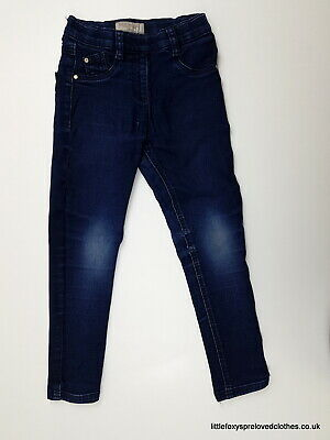 6 year NEXT blue skinny jeans denim trousers