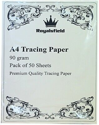 A4 Tracing Drawing Translucent Calligraphy Paper 90gsm 50 - 500+