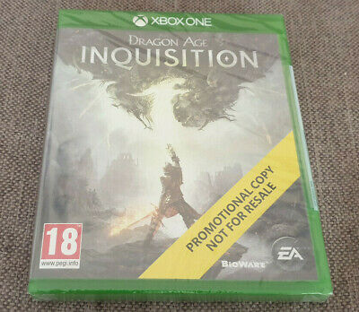 Microsoft Xbox One Game Dragon Age Inquisition New Sealed Promo Version