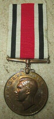"Medaille ""Special Constabulary"" GB WW2 Attribuée"