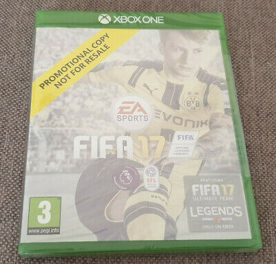 Microsoft Xbox One Game Fifa 17 Brand New Sealed Promo Version