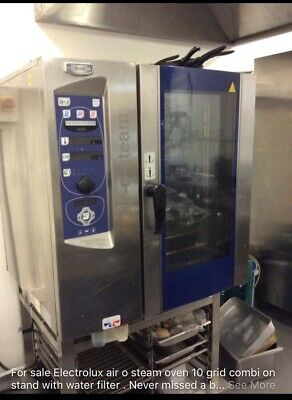 commercial combi oven Electrolux Air O Steam 10 Grid Electric Oven On A Stand