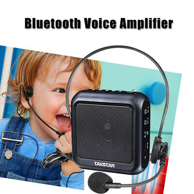 Takstar Bluetooth Voice Amplifier Microphone Loudspeaker Built-in MCU for Guide