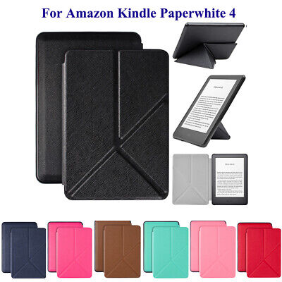 For Amazon Kindle Paperwhite 4 10th Gen 2018 Folding Flip Smart Stand Cover Case