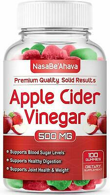 Apple Cider Vinegar Gummies with The Mother - Fresh and Juicy - USA MADE