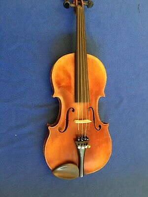Conservatory Antique Violin With Bow And Case 4/4