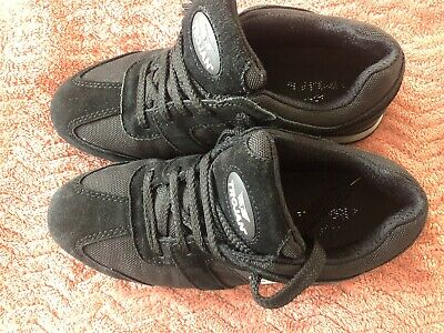 Used Few Times TROJAN  Women's Black Safety Trainers Size Uk 6