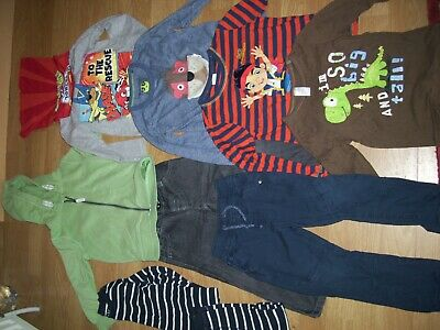 Boys bundle of winter clothing.Age 2-3 yrs.Hoodie, jeans,tops,trousers, pyjamas.