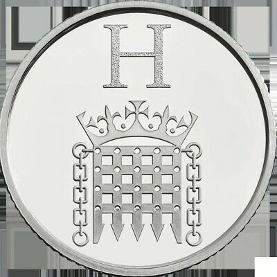A - Z Alphabet 10p Coin Hunt 2018 Letter H HOUSES OF PARLIAMENT(Rare Ten Pence)
