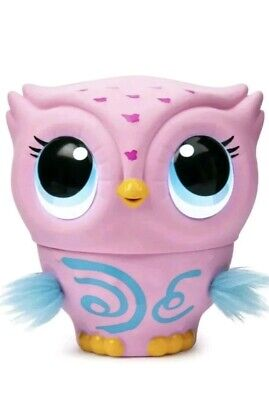 Pink Owleez Interactive Flying Baby Owl Lights Sounds Nest Helicopter Drone Toy