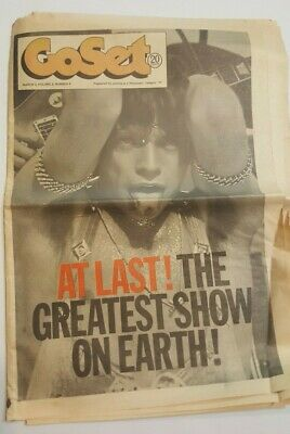 Go Set Magazine March 3 1973 Mick Jagger Rolling Stones