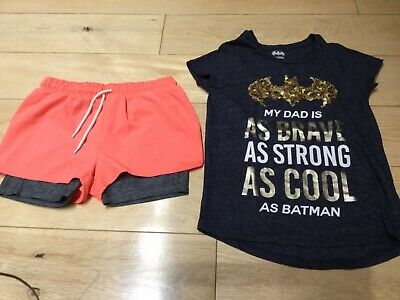 Next Girls Top & Shorts! Age 9-10 years
