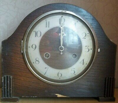 Vintage Mantle Clock Perivale Movement – Spares/Repairs