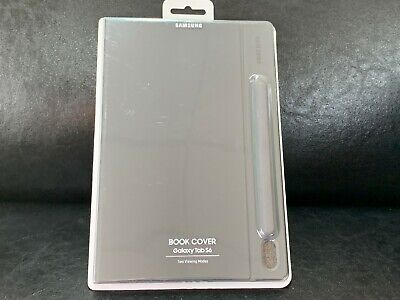 Samsung - Book Cover for Samsung Galaxy Tab S6 - Mountain Gray ~NO KEYBOARD~NEW!
