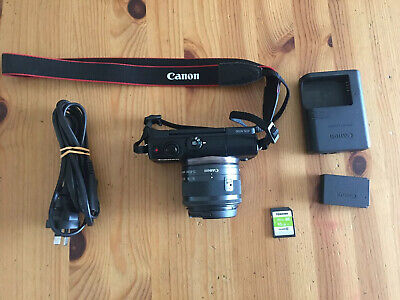 Canon EOS M100 touch screen camera  with 15-45mm Kit Lens