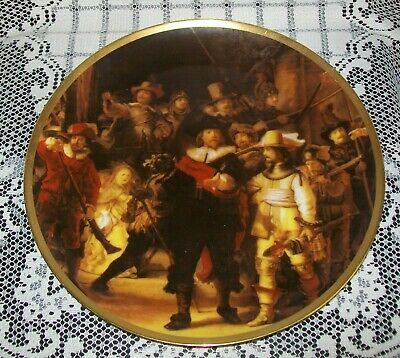 LARGE REMBRANDT COLLECTOR PLATE 'Night Watch' Westminster AU 26cm