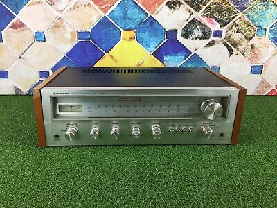 Vintage Pioneer SX-450 HiFi Stereo Integrated Amplifier & Tuner, Stereo Receiver