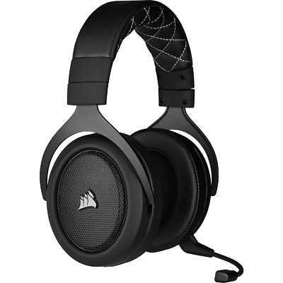Corsair HS70 Pro Wireless Gaming Headset With Mic 7.1 Surround Sound Carbon