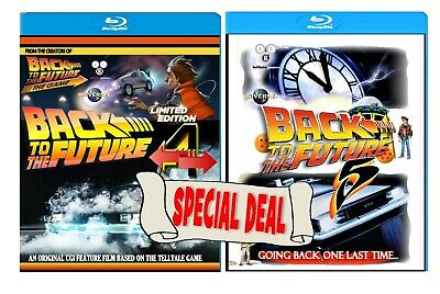 Back To The Future 4 & 5 [IV and V] Both CGI animated feature films [Blu-ray]