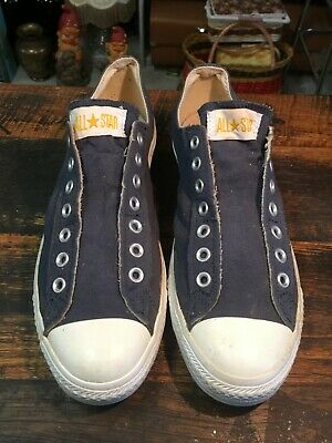 BRT Retro 1990s to 2000's Blue & White Converse All Star Low Cute Runners