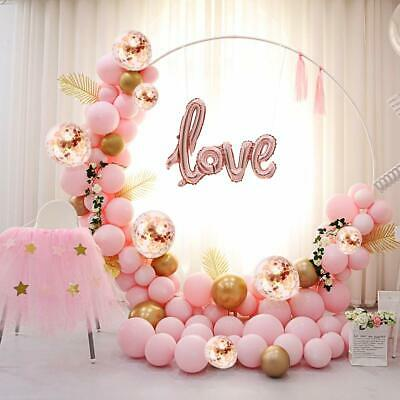 Balloon Arch Party Love Kit 117PCS 5M Latex Balloon Garland Kit with Rose Gold