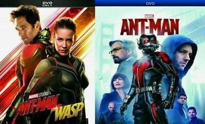 ANT-MAN + ANT-MAN AND THE WASP 1 & 2 DVD Box Set New & Sealed Free Shipping!