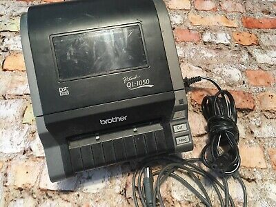 Brother P-Touch QL-1050 Label Thermal Printer 4x6 AS IS
