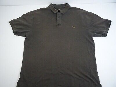 Rodd & Gunn Men's Brown Collared Polo Shirt Size XL 100% Cotton