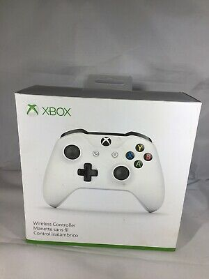 Genuine Microsoft Xbox One S White Wireless Bluetooth Controller TF5-00001 NEW