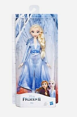 New Disney FROZEN 2 Elsa Fashion Doll With Long Blonde Hair Blue Outfit HOT ITEM
