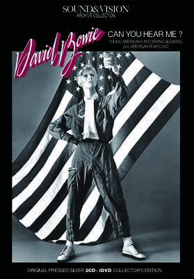 David Bowie/Can You Hear Me?-Young Americans 1975  [2Cd+Dvd] *F/S