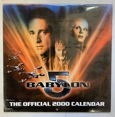 Babylon 5 The Official 2000 Calendar Sealed