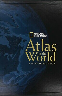 National Geographic Atlas of the World, Eighth Edition Hardcover – Oct 1 2004
