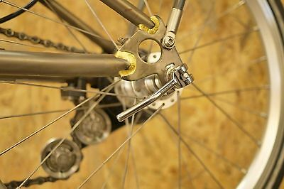 CNC Derailleur Cable Anchorage for Brompton Bicycle speed shifter F