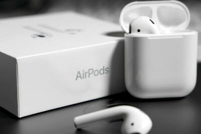 100% AUTHENTIC Geniune Apple AirPods 2nd Generation Complete SET MV7N2AM/A OEM