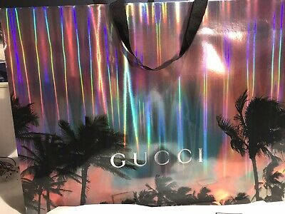 GENUINE GUCCI Gorgeous Paper Gift / Shopping Bag Size 19