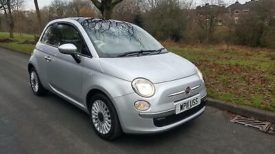 FIAT 500 1.2 ( 69bhp ) LOUNGE, 55,800 MILES, FULL SERVICE HISTORY, 1 YEARS MOT,