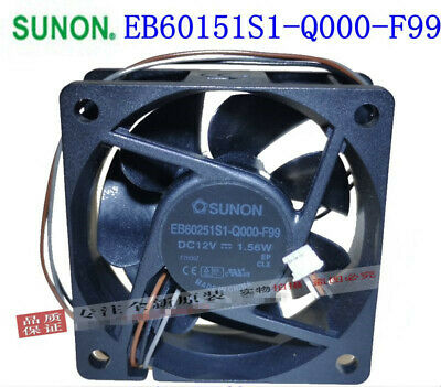 E34390-16 6025 12V 0.22a 2-Wire Cooling Fan 6months Warranty