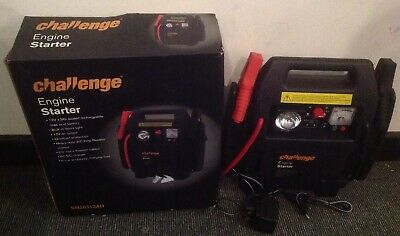 Challenge 12V Rechargeable  Engine Starter, Fully Working With Box