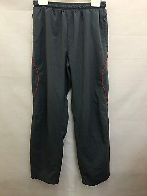 Mens Reebok Joggers Tracksuit Bottoms Size S Small - Grey