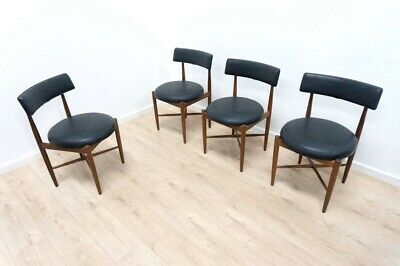 Set of 4 G Plan Fresco Kofod Larsen Mid Century Vintage Teak Dining Chairs /1071