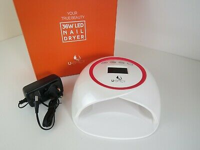 New UV Nail Drying Lamp. 36W LED curing Lamp, shipped From UK